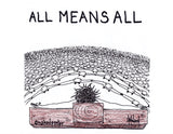 All Means All Greeting Card