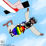 Skydiver CARTOON