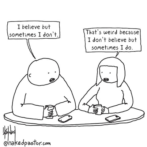 Sometimes I Believe CARTOON