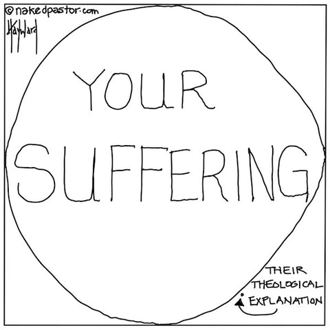 Suffering and Theology CARTOON