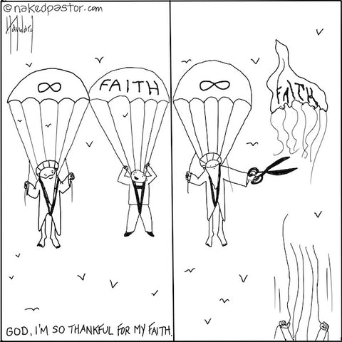 Thankful For My Faith CARTOON