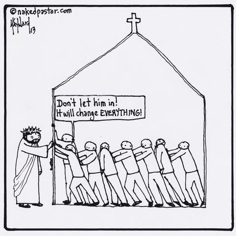 The Church Versus Jesus
