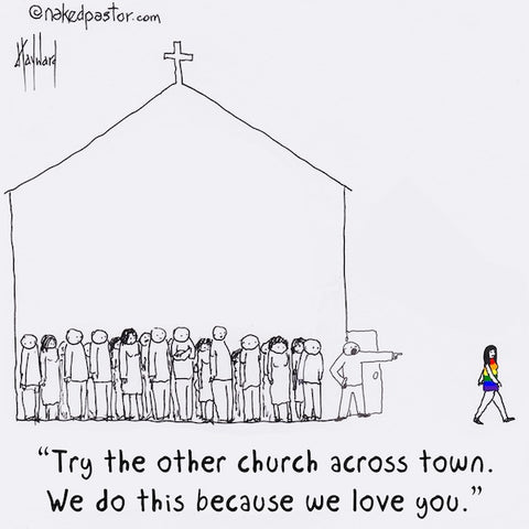 Try the Other Church CARTOON