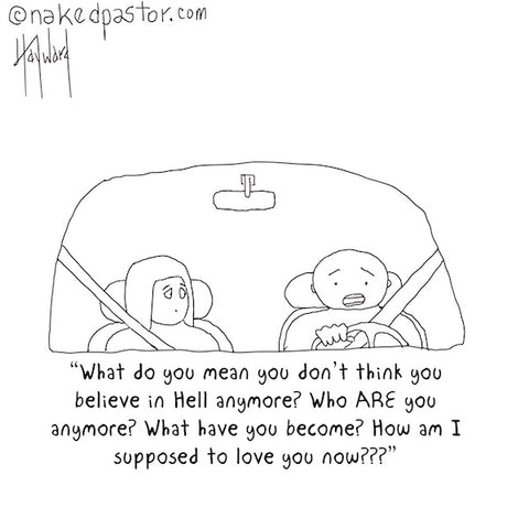 Who Are You Anymore? CARTOON