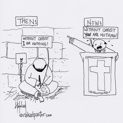 Without Christ Then and Now