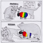 Mama or Papa Bear LGBTQ CARTOON