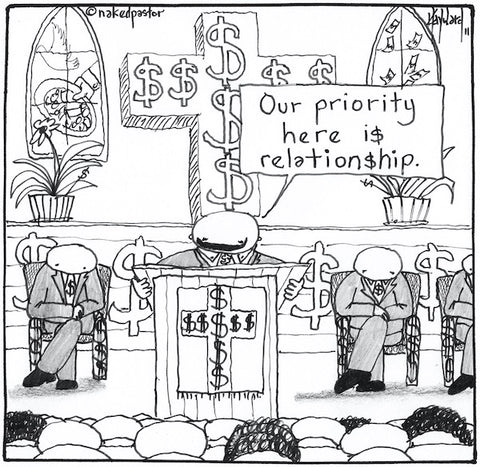 The Church, Money and Relationship