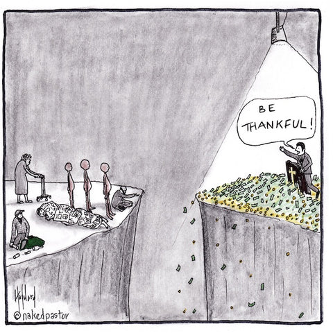 Be Thankful Cartoon