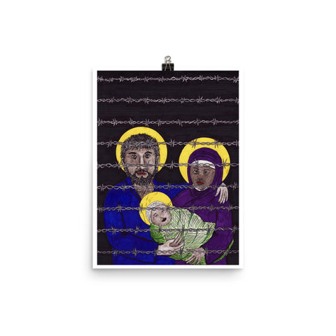 The Holy Family PRINT Poster