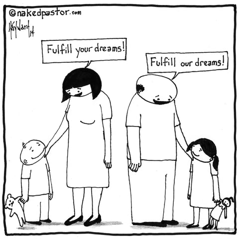 Whose Dreams Do You Fulfill CARTOON