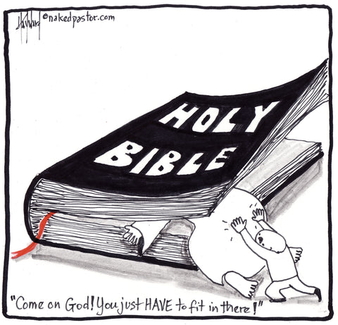 God Fit Cartoon