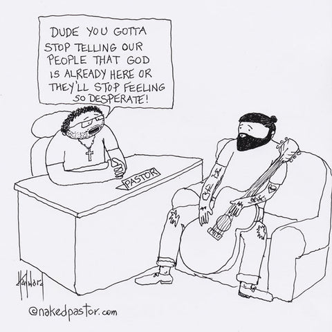 Desperation and Worship CARTOON