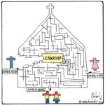Leadership Maze CARTOON