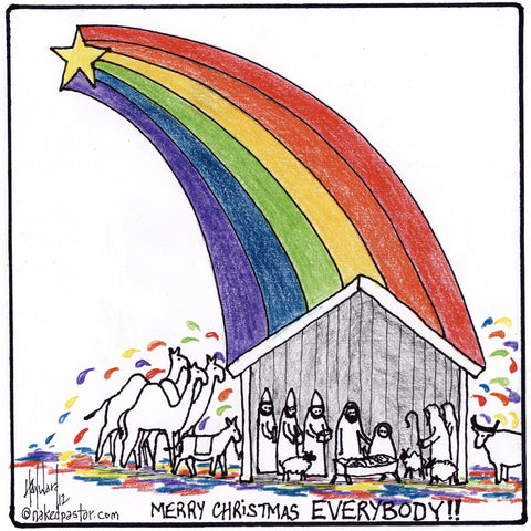 LGBTQ Christmas CARTOON