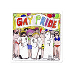 God and Gay Pride Stickers