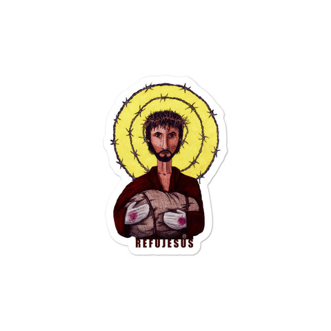 RefuJesus Sticker