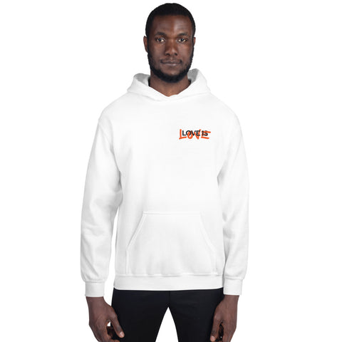 Love is Love Small Logo Unisex Hoodie