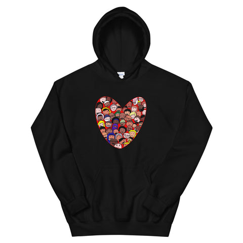 Love Everybody Unisex Hoodie