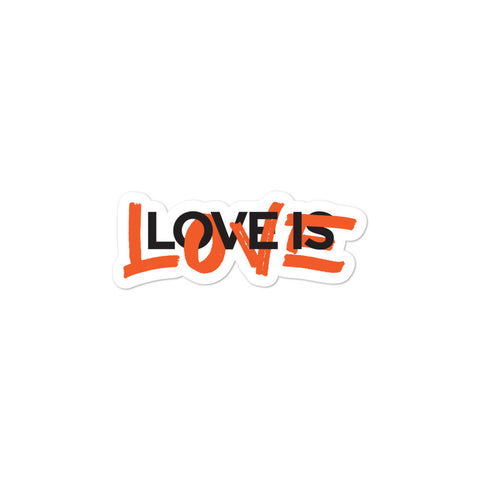 Love is Love Bubble-free stickers