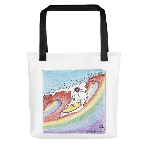 Wave of Gay Theology Tote bag