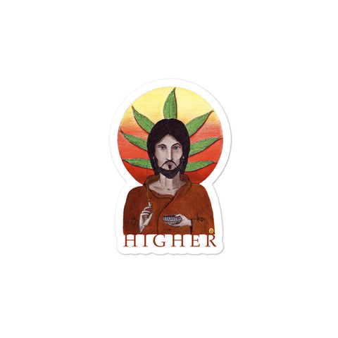 Higher Sticker