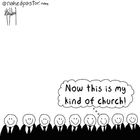 My Kind of Church CARTOON