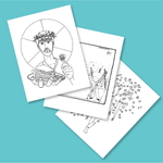 Donate - Coloring Sheets