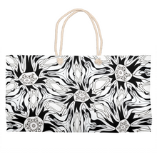 Load image into Gallery viewer, 'Tripping Daisy' Weekender Tote Bag