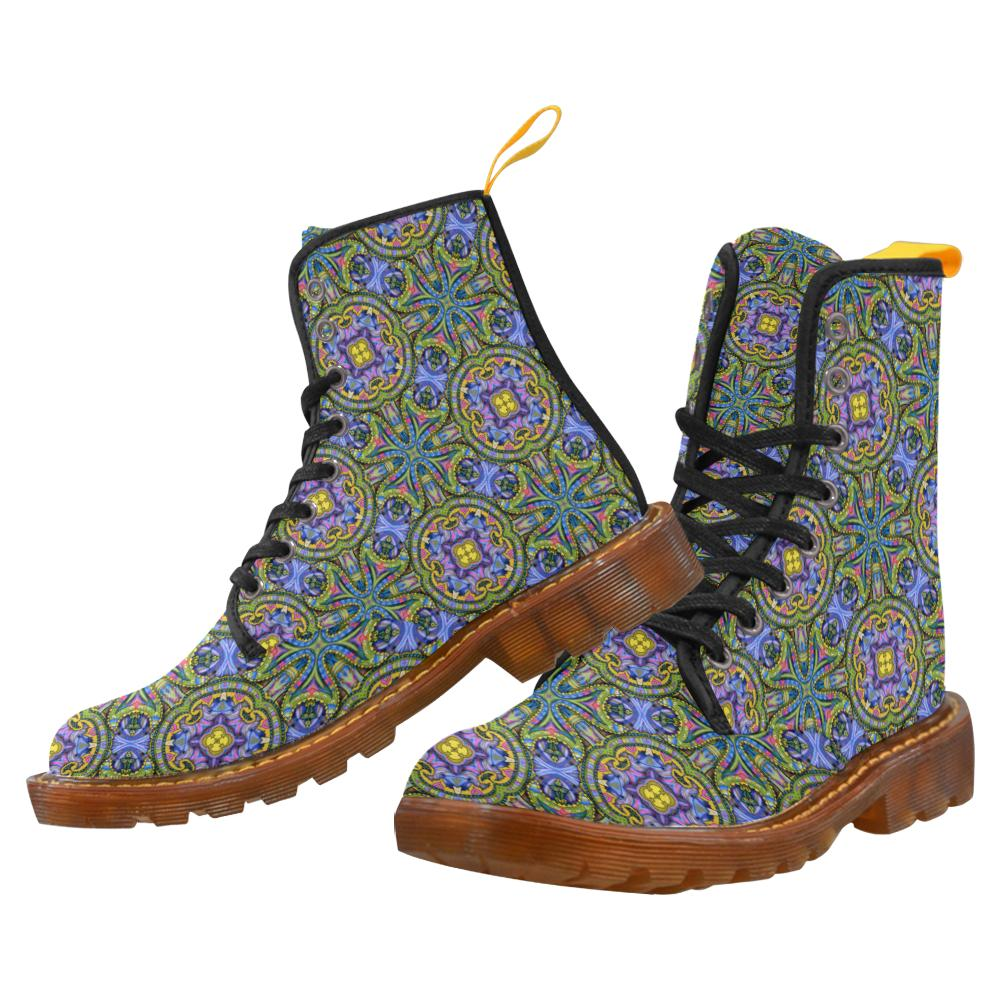Canvas Women's Boots by Leah Quinn for the 2021 Winter Season
