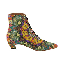 Load image into Gallery viewer, 'Mandala Number 23' Boots by Leah Quinn Design