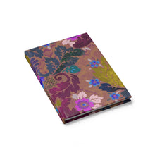 Load image into Gallery viewer, Victorian Boheme in Purple Hardcover Journal 5x7.25 inch - Blank by Leah Quinn Design
