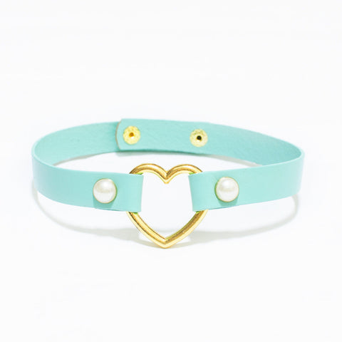 MERMAID HEART BONDAGE CHOKER
