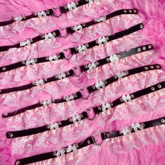 BABY DOLL BONDAGE CHOKERS