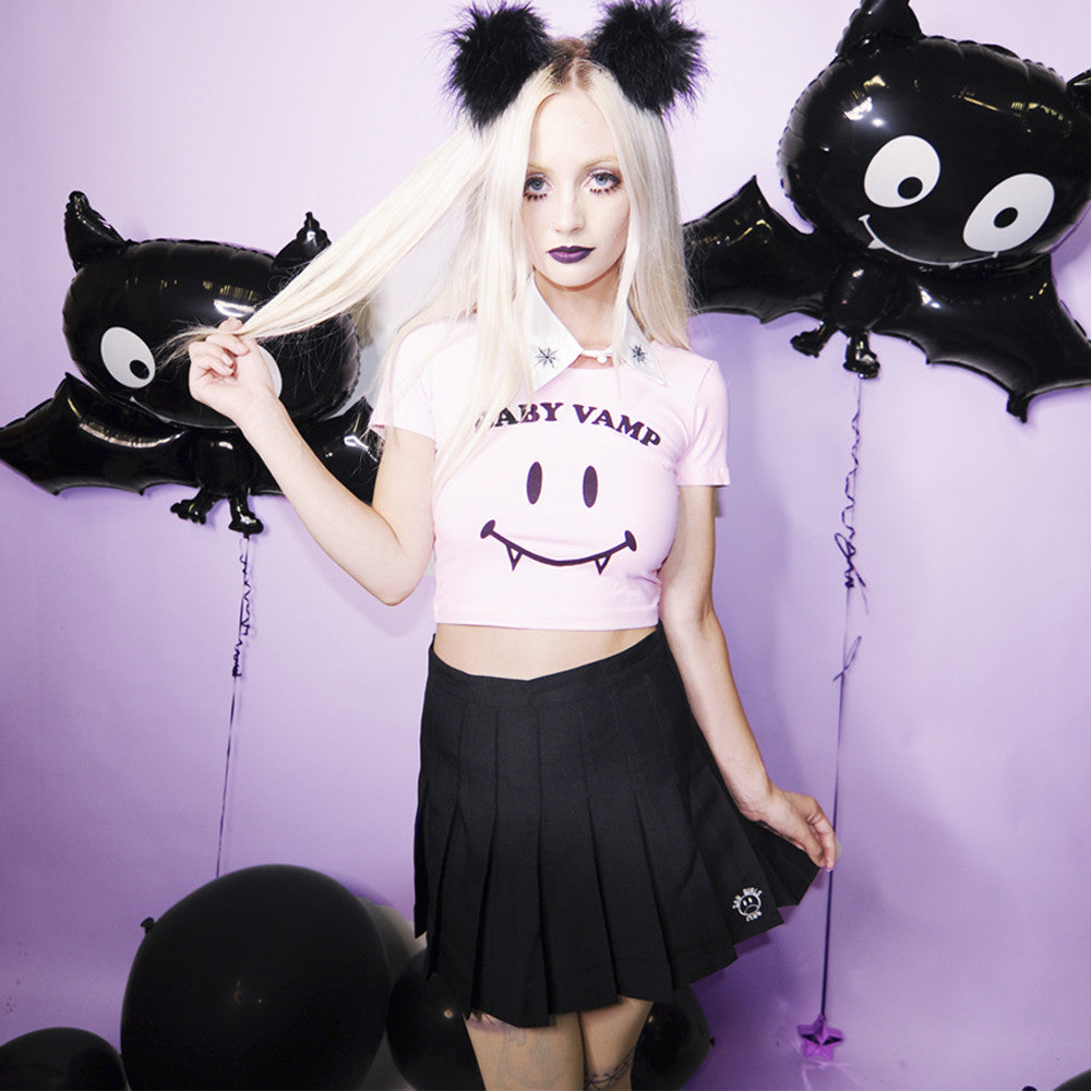 BABY VAMP CROP TOP