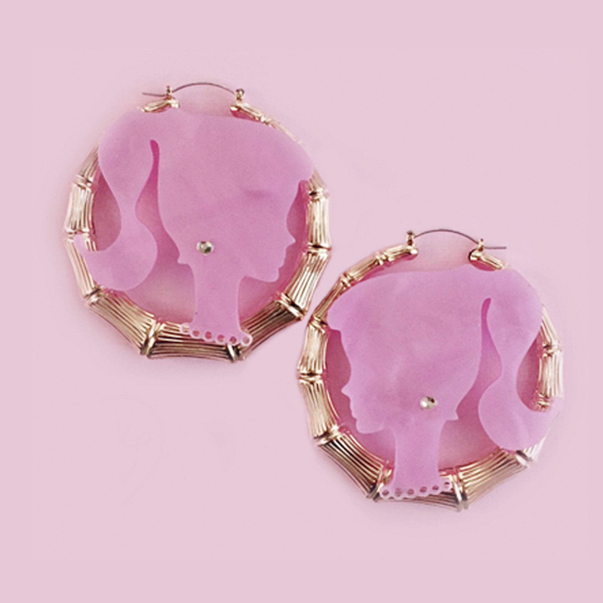 BARBIE BITCH EARRINGS