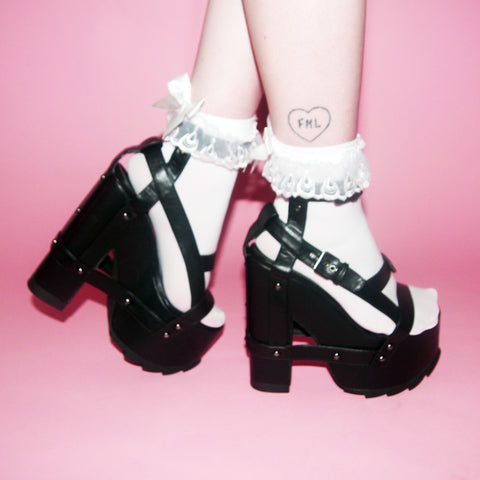 Y. R. U. BLACK NIGHT CALL SHOES