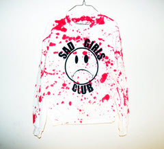 BLOODY SAD GIRLS CLUB SWEATSHIRT