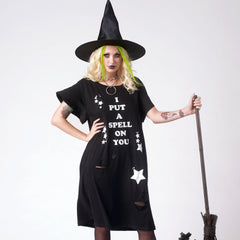 I PUT A SPELL ON YOU TEE DRESS