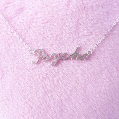 PSYCHO, YASSSSS, EYEROLL Necklace Collection