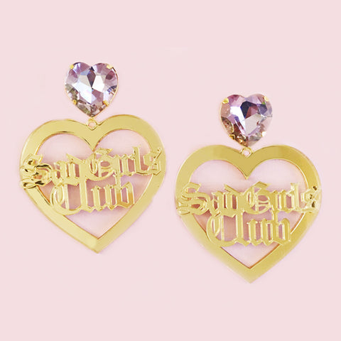 SAD GIRLS CLUB EARRINGS