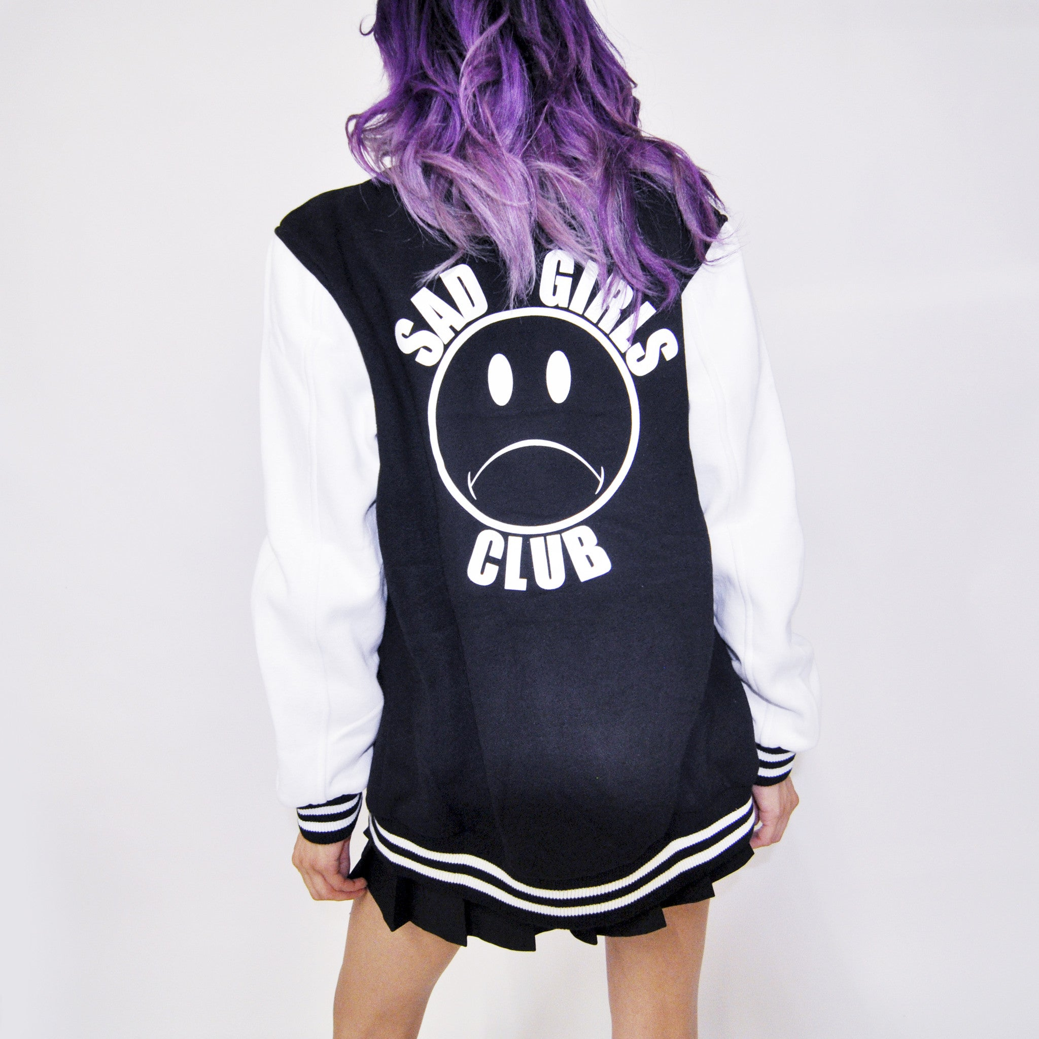 SAD GIRLS CLUB VARSITY JACKET