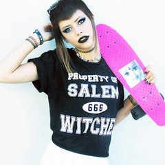 PROPERTY OF SALEM WITCHES TEE