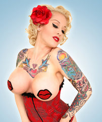 RED LIPS PASTIES