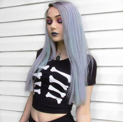 SHOW YOUR BONES CROP TOP
