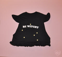 BE WITCHY RUFFLE TOP