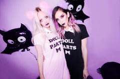 DOLL PARTS T-SHIRT DRESS