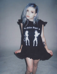 FALLEN ANGEL BABYDOLL DRESS