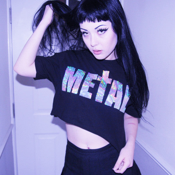 METAL HOLOGRAM TEE