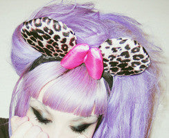 LEOPARD MINNIE EARS