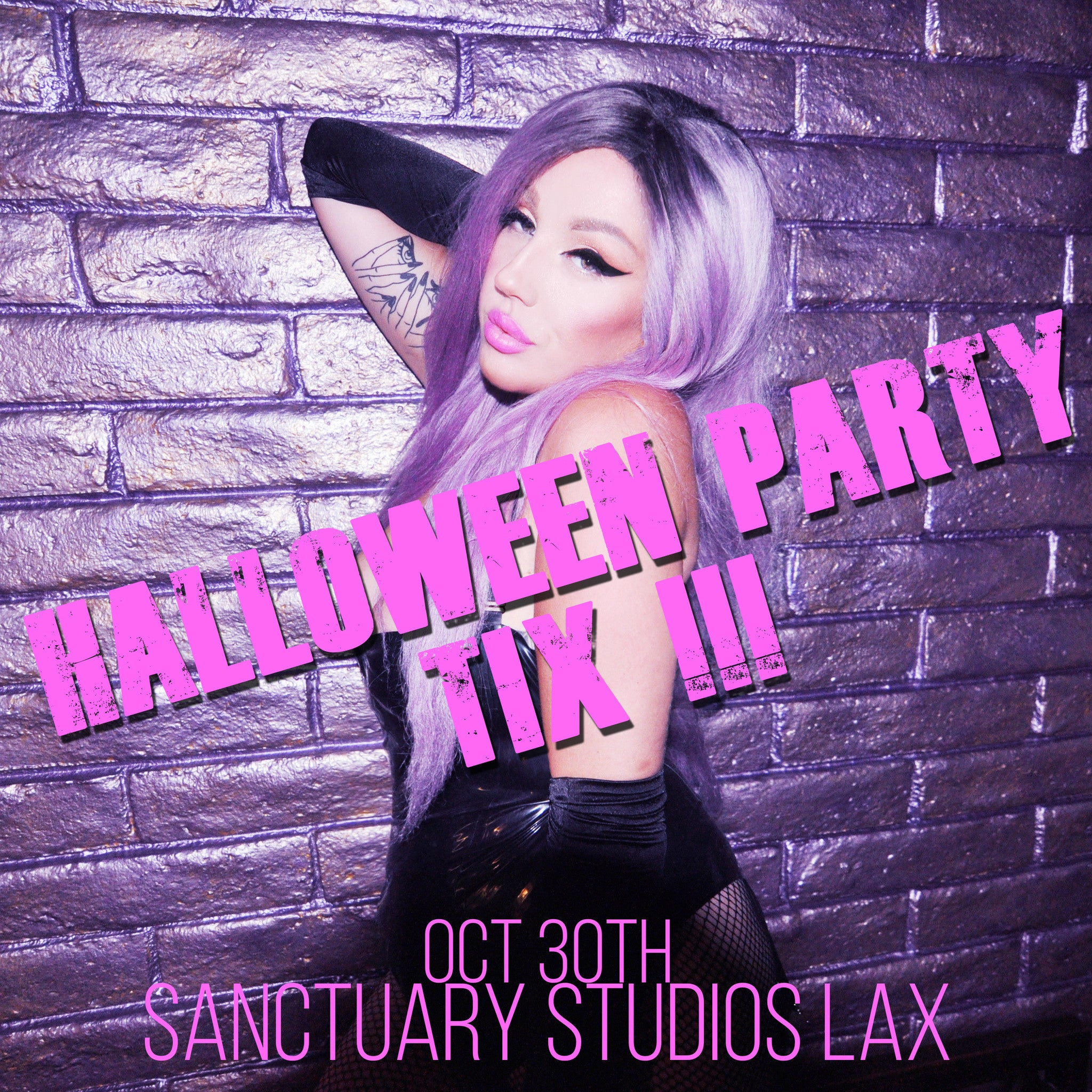 NIKKI LIPSTICK'S HALLOWEEN PARTY PRE-SALE TICKETS